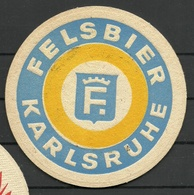 Bierdeckel Deutschland Felsbier Karlsruhe - Beer Mats