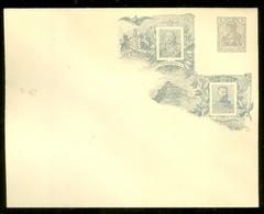 DEUTSCHES REICH CARTOLINA CON SOVRASTAMPA PRIVATA KÖNIGREICH WÜRTTEMBERG 1806-1906 CENTENARFEIER 2 Pf. (11.375) - Postwaardestukken