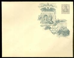DEUTSCHES REICH CARTOLINA CON SOVRASTAMPA PRIVATA KÖNIGREICH WÜRTTEMBERG 1806-1906 CENTENARFEIER 2 Pf. (11.377) - Germany
