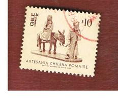 CILE (CHILE)  - SG 1029  -    1985 CHILEAN ART: HOLY FAMILY  -     USED ° - Cile