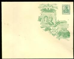 DEUTSCHES REICH CARTOLINA CON SOVRASTAMPA PRIVATA KÖNIGREICH WÜRTTEMBERG 1806-1906 CENTENARFEIER 5 Pf. (11.379) - Postwaardestukken