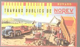 Buvard NOREV Camion Miniature NOVEV Travaux Publics - Automobile