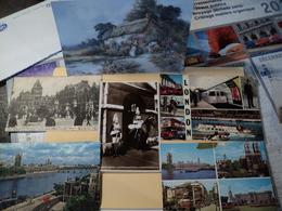ANGLETERRE. LOT DE 6 CPA / CPSM LONDRES. 1905 / 1976. LIVERPOOL STREET STATION BIEN ANIMEE / 2 VUES MULTIPLES / MAISONS - Londres