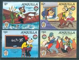 1985 Anguilla Disney 150th Of The Bhirth Of Mark Twain MNH** Fo138 - Disney