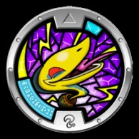 Yo-Kai Watch Series 1 - URNACONDA Medal - Other Collections
