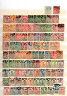 Lote De Sellos De China En (o) - 1912-1949 Republic