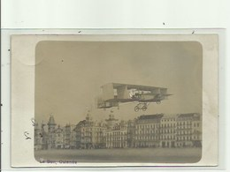 Oostende - Vliegtuig  -Fotokaart , Fotograaf Le Bon , Verzonden - Oostende