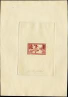 France épreuves D'artistes 1900 à 1939 N° 252  Le Travail épreuve En Violet-brun Signée - Epreuves D'artistes