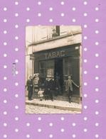 16  CARTE PHOTO  BARBEZIEUX  DEBIT DE TABAC 10 , RUE Marcel JAMBON - France