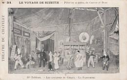 LE VOYAGE DE SUZETTE LES COULISSES DU CIRQUE LA PANTOMIME - Circo