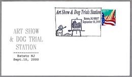 ART SHOW & DOG TRIALS. Perro - Dog. Batsto NJ 2000 - Hunde