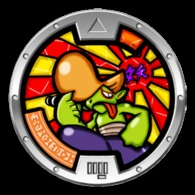 Yo-Kai Watch Series 1 - ROUGHRAFF Medal - Other Collections