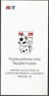 Croatia 1996 / European Football Championship England '96 / Prospectus, Leaflet, Brochure - Kroatien