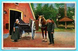 Veluwsch Boerenerf - Agriculture - Cheval - Animée - WEHA 42 - 1943 - Colorisée - Autres