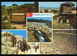 CPM Non écrite Turquie DENIZLI Pamukkale Multi Vues - Türkei