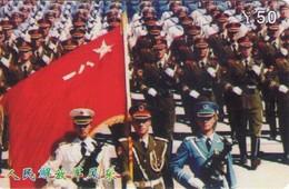 TARJETA TELEFONICA DE CHINA. MILITARES (099) - Armada