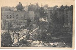 RENFREW - WIRE BRIDGE ON THE BONCHERE  -S864 - Ontario