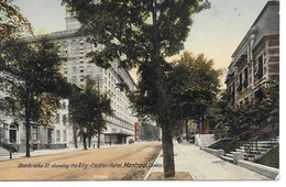 MONTREAL - SHERBROOKE ST - THE RITZ-CARLTON -S866 - Montreal