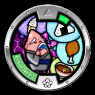 Yo-Kai Watch Series 1 - HUNGRAMPS Medal - Other Collections