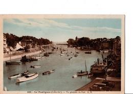 605. - Le Pouliguen (Loire-Inf.). -  Vue Générale Du Port  A.B. Cpa Animé, Bateaux. - Le Pouliguen