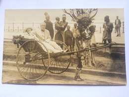 SOUTH AFRICA - Durban - Ricksaw - Real Photo - Zulu - South Africa