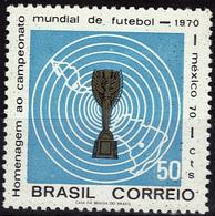 BRESIL   N° 932   * *  Cup 1970    Football  Soccer Fussball - Fußball-Weltmeisterschaft