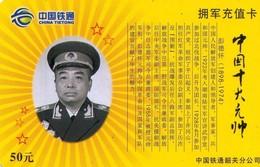 TARJETA TELEFONICA DE CHINA. MILITARES (103) - Armada