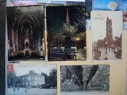 LOT DE 11 CPA / CPSM PARIS. 1905 / 1977 QUELQUES JOLIES CARTES AVEC ANIMATION NOTAMMENT LE CHARMEUR D OISEAUX. LA SAINT - France