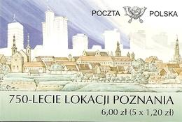 POLAND / POLEN, POZNAN  POST OFICE, 2006,  Booklet 1 - Markenheftchen