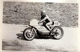 Photo Originale Sport Moto - Circuit De Rouen-les-Essarts En 1974 - Grand Prix Moto & Motard En Course Le 31.03.1974 - Cycling