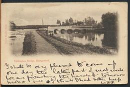 °°° 12273 - UK - EDDINGTON BRIDGE , HUNGEFORD - 1906 With Stamps °°° - Inghilterra