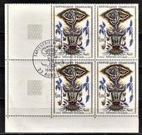 FRANCE 1966 -  Y.T. N° 1493 EN BLOC DE 4 TP NEUFS** - Ungebraucht