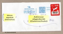BRD - Privatpost / DP Frankit - Mailcats - Marke: Katze - Wert: 0,49 - Raubkatzen