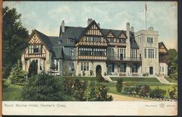 °°° 12275 - SCOTLAND - ROYAL MARINE HOTEL , HUNTER'S QUAY - 1905 With Stamps °°° - Argyllshire