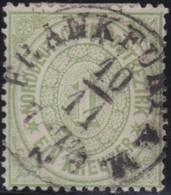Nord   .   Michel   .     19         .            O       .               Gebraucht - Norddeutscher Postbezirk