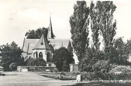 Mook, RK Kerk   (glansfotokaart) (met Stempel Gouden Vierdaagse Nijmegen) 2 X Scan - Nederland