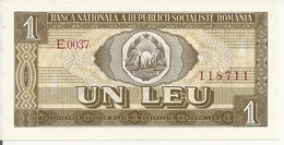 ROUMANIE 1 LEU 1966 UNC P 91 - Romania