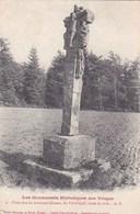 88 VAL D' AJOL  Monument Historique  CROIX Ancienne Datant De 1626 Dite De JERENCEAU Timbre 1908 - Francia
