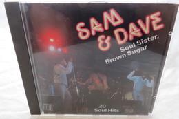 """CD """"Sam & Dave"""" Soul Sister, Brown Sugar, 20 Soul Hits - Soul - R&B"""