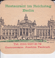 VP-18-505 : SOUS-BOCK.  RESTAURANT IM REICHSTAG BERLIN  GASTRONOMIE JOACHIM PANKRATH - Portavasos