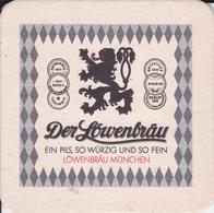VP-18-506 : SOUS-BOCK.  DER LOWENBRAUU MUNCHEN - Beer Mats
