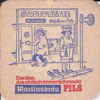 VP-18-508 : SOUS-BOCK. MARTINSBRAU PILS - Beer Mats