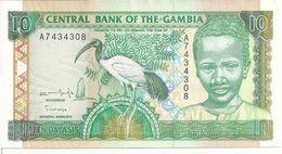 GAMBIE 10 DALASIS ND1996 UNC P 17 - Gambie