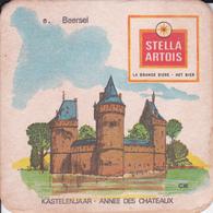 VP-18-516 : SOUS-BOCK. STELLA ARTOIS. ANNEE DES CHATEAUX. KASTELENJAAR. BEERSEL - Beer Mats