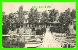 CLARK'S LAKE, MI - PLEASANT VIEW HOTEL AND BOAT LANDING - TRAVEL - - Etats-Unis