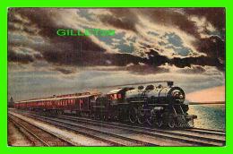 TRAINS - TWENTIETH CENTURY LIMITED LEAVING CHACAGO - - Trains