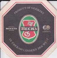VP-18-520 : SOUS-BOCK. BECK'S - Beer Mats