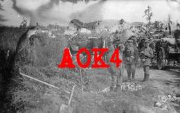 02 Aisne TAUX Hartiennes Vierzy Parcy Tigny Offensive Chemin Des Dames Artillerie Feldpost 1918 - France