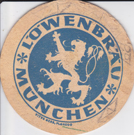 VP-18-524 : SOUS-BOCK. LOWENBRAU MUNCHEN. LION - Portavasos