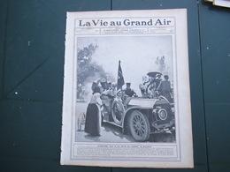 LA VIE AU GRAND AIR N°403 DU 9 JUIN 1906 CIRCUIT DE LA SARTHE,CONCOURS DE TOURISME,LE TOUR DE FRANCE,ALPHONSE XIII A LA - 1900 - 1949
